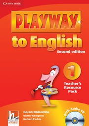 Playway to English Second edition Level1 Teacher's Resource Pack with Audio CD