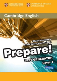 Cambridge English Prepare! Level 1 Test Generator CD-ROM