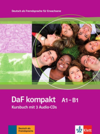 DaF kompakt A1 - B1 Studentenboek + 3 Audio-CDs