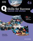 Q Skills For Success Level 4 Reading & Writing Split Student Book B With Iq Online
