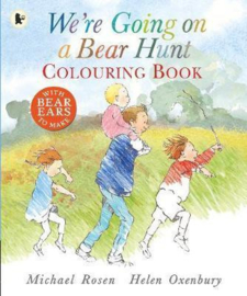 We're Going On A Bear Hunt Colouring Book (Michael Rosen, Helen Oxenbury)