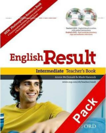 English Result: Intermediate: Teacher's Resource Pack with DVD and Photocopiable Materials Book : General English four-skills course for adults