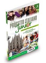Progetto italiano Junior 3 SB + WB + Audio CD + DVD