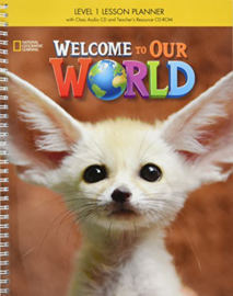 Welcome To Our World 1 Lesson Planner + Class Audio Cd + Trcdrom