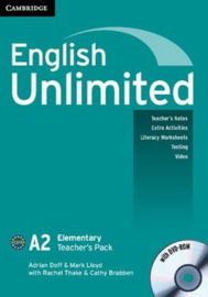 English Unlimited Combos Elementary A and B Teacher's Pack (Teacher's Book with DVD-ROM)