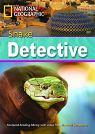 Footprint Reading Library 2600: Snake Detective Book With Multi-rom (x1)