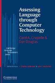 Assessing Language through Computer Technology Paperback