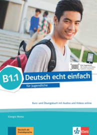 Deutsch echt einfach B1.1 Studentenboek en Oefenboek met Audio en Video online