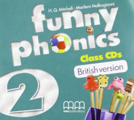 Funny Phonics 2 Class Cd (British Edition)