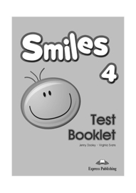 Smiles 4 Test Booklet (international)