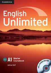 English Unlimited Starter Coursebook with ePortfolio