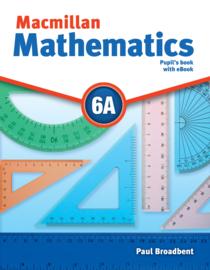 Macmillan Mathematics Level 6 Pupil's Book + eBook Pack A