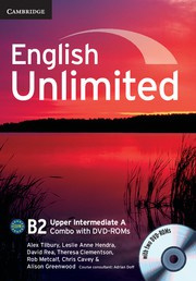 English Unlimited Combos Upper Intermediate A Combo with DVD-ROMs (2)