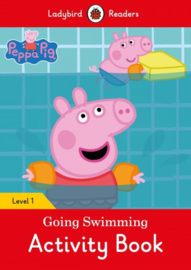 Peppa Pig Going Swimming Activity Book - Ladybird Readers Level 1