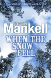 When the Snow Fell (Henning Mankell) Paperback / softback