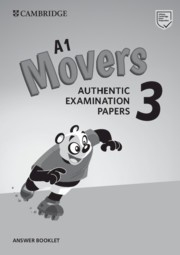Cambridge English Young Learners 3 Movers Answer Booklet