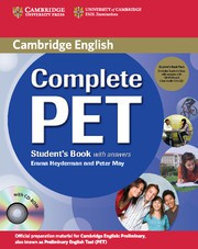 Complete PET Student's Book Pack