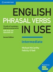 English Phrasal Verbs in Use Intermediate Second edition Book with answers