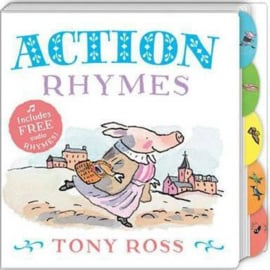 Action Rhymes (My Favourite Nursery Rhymes Board Book) (Tony Ross) Board book