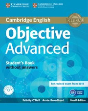 Objective Advanced Fourth edition Student's Book without answers with CD-ROM