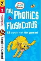 Stages 2-3: Biff, Chip and Kipper: My Phonics Flashcards