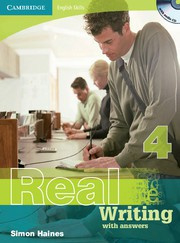 Cambridge English Skills: Real Writing Level4 Book with answers and Audio CD