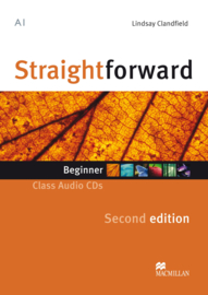 Straightforward 2nd Edition Beginner Level  Class Audio CD (2)