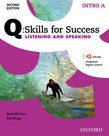 Q Skills For Success Intro Level Listening & Speaking Split Student Book A With Iq Online