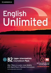 English Unlimited UpperIntermediate Coursebook with ePortfolio and Online Workbook Pack