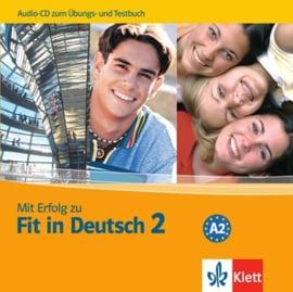 Mit Erfolg zu Fit in Deutsch 2 Audio-CD