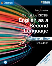 Cambridge IGCSE® English as a Second Language Fifth edition Teacher's Book with Audio CD and DVD