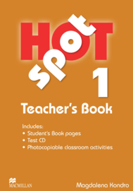 Hot Spot Level 1 Teacher's Book & Test CD