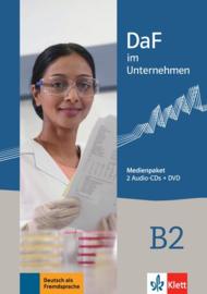 DaF im Unternehmen B2 Multimediapakket (2 Audio-CDs + DVD)