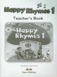Happy Rhymes 1 Teacher's Book (international)