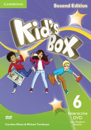 Kid's Box Updated Second edition Level6 Interactive DVD with Teacher's Booklet