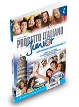 Progetto italiano Junior 1 SB + WB + Audio CD + DVD