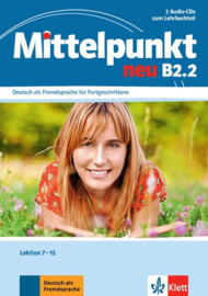 Mittelpunkt neu B2.2 2 Audio-CDs bij het Lehrbuch Les 7-12