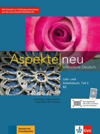 Aspekte neu B2 Studentenboek en Werkboek met Audio-CD Teil 2