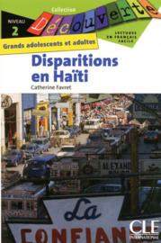 Disparitions en Haïti - Niveau 2 - Lecture Découverte - Livre
