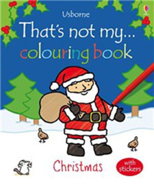 That's not my colouring book... Christmas