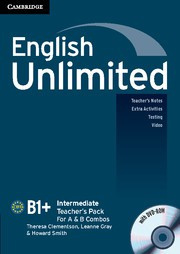 English Unlimited Combos Intermediate A and B Teacher's Pack (Teacher's Book with DVD-ROM)