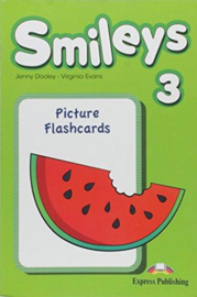 Smiles 3 Picture Flashcards (international)