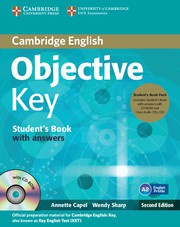 Objective Key Second edition Student's Book Pack (Student's Book with answers with CD-ROM and Class Audio CDs(2))