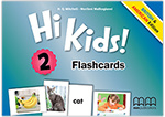 Hi Kids 2 Flashcards British & American Edition