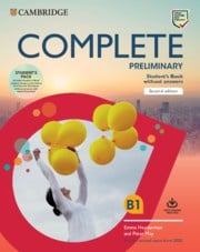 Complete Preliminary Student's Pack