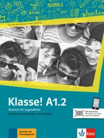 Klasse! A1.2 Studentenboek met Audio en Video