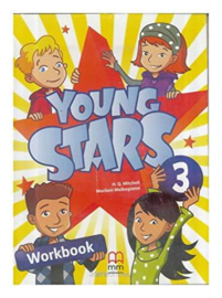 Young Stars 3 Workbook (Incl. CD)
