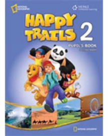 Happy Trails 2 Pupil's Book with Audio Cd (x1)