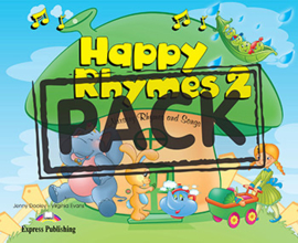 HAPPY RHYMES 2 PUPIL'S PACK 2 (CD & DVD PAL)