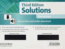 Solutions Elementary Course Tests Pack